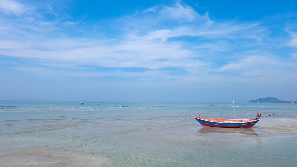 Beach, Thailand Beach, Prachuap Khiri Khan, Sea