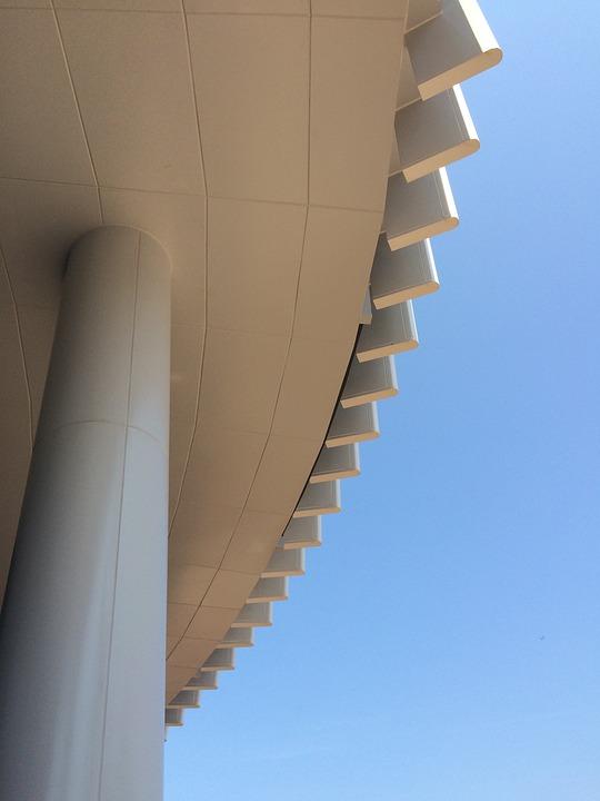 Stadium, Practice, Positive, Building, Column