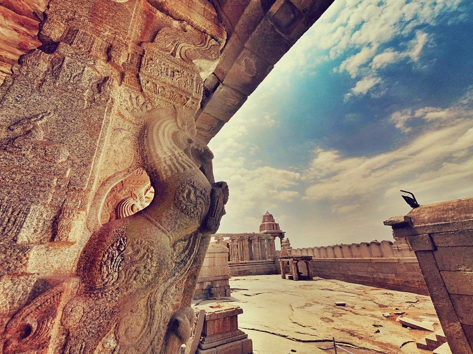 Lepakshi, Andhra, Pr, Pradesh, India, Temple, Sculpture