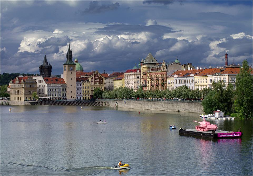 Prague, Architecture, Historical Center