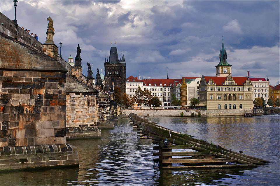 Prague, Architecture, Historical Center
