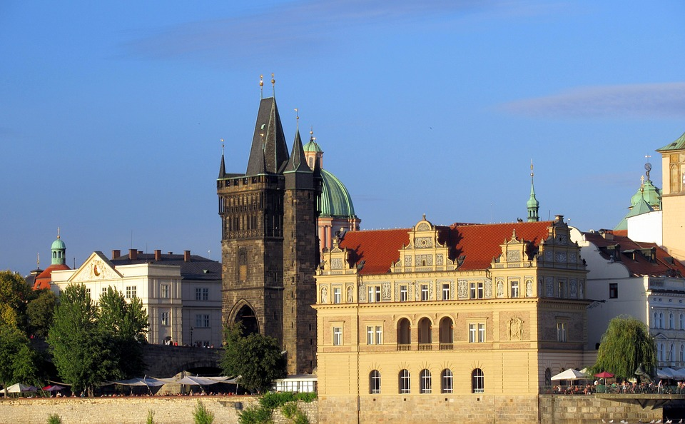 Prague, Charles Bridge, Architecture, Ages