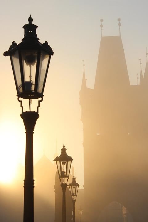 Prague, Charles Bridge, Czech Republic, History, River