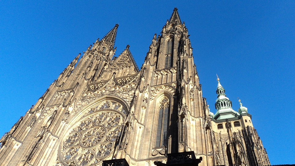 Cathedral, Church, Prague, European, Europe, Tourism