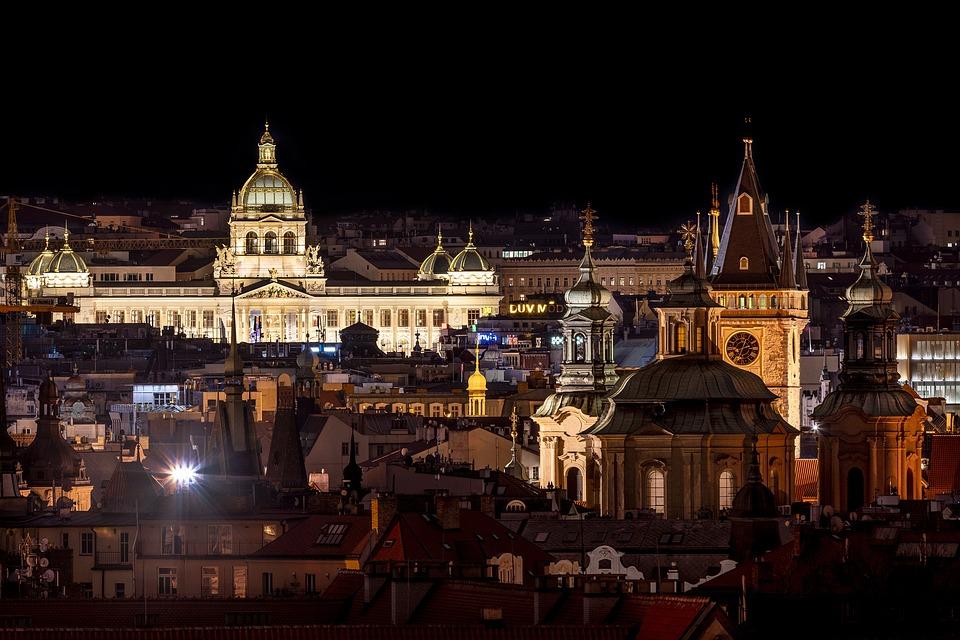 Praha, Prague, City, Europe, Historically, Architecture
