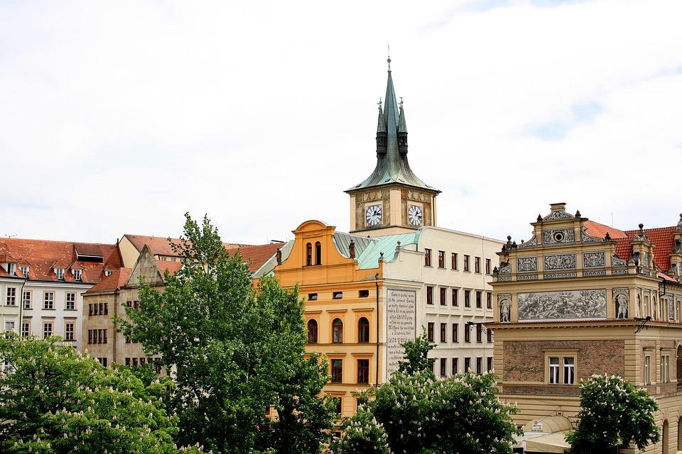 Prague, Europe, Journey, Czech Republic, Clock