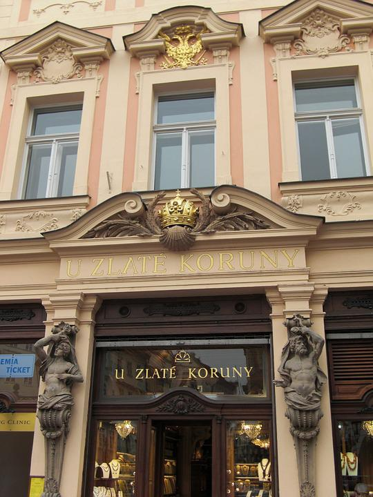 Prague, Czech Republic, Facade, Architecture