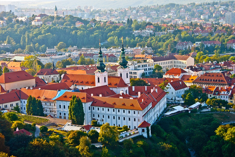Czech Republic, Prague, Old Town, View From Above