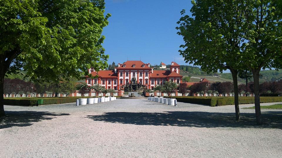 Prague, Castle, Baroque, History, Troja Castle, Park