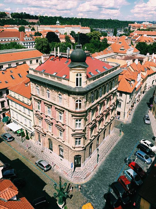 Prague, Czech, City, Sky, Republic, Europe