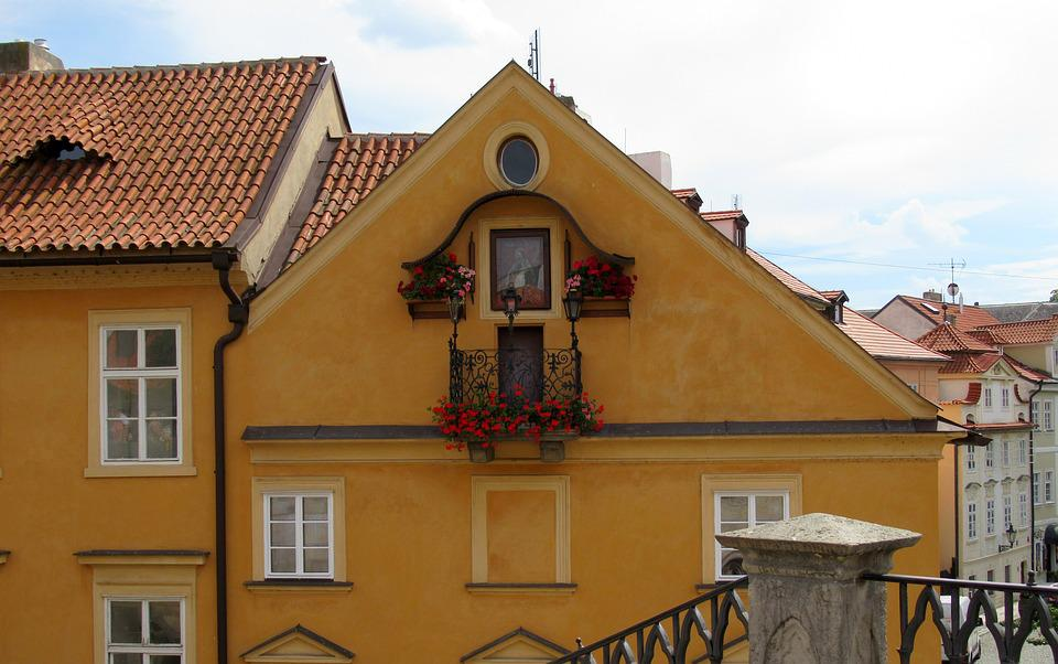 Prague, Architecture, Roofs, Charles Bridge