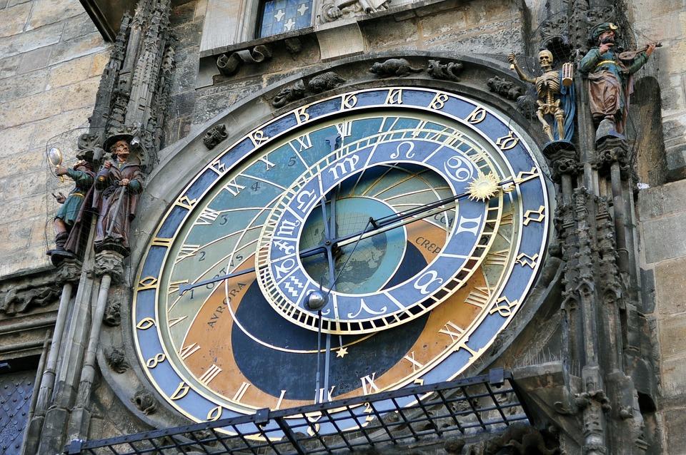 Czech, Prague Square, Time