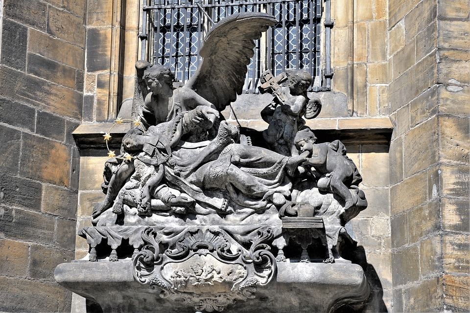 Statues, Prague, Historically, Architecture