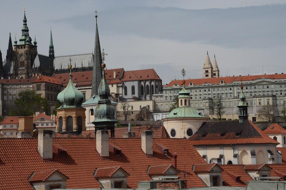 Prague, Church, Prague Castle, Monument, Tower