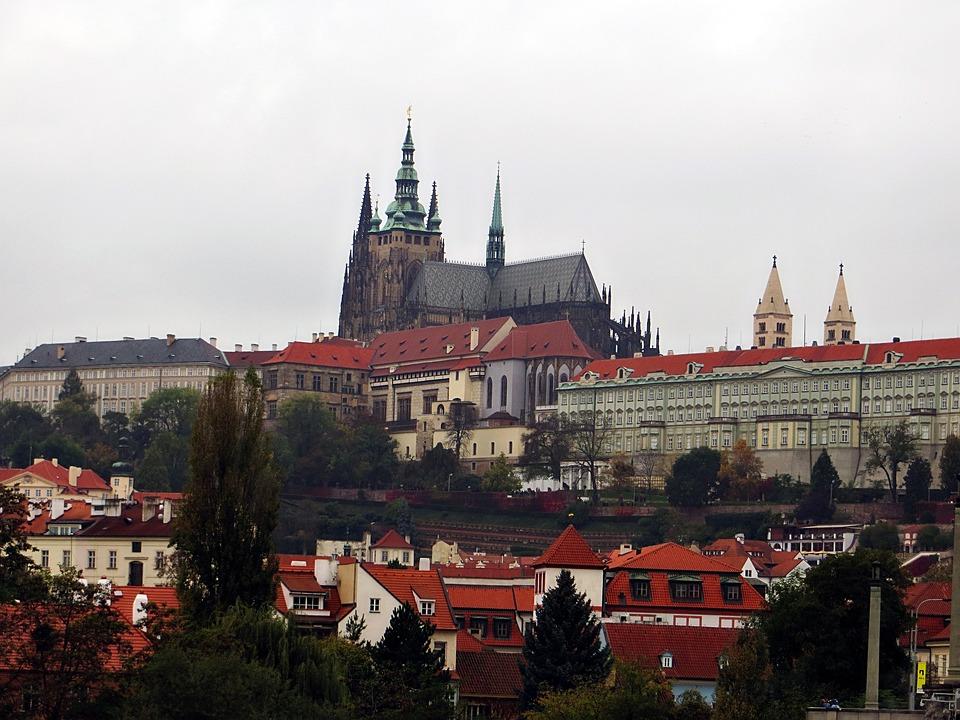 Architecture, Travel, Old, City, Castle, Prague