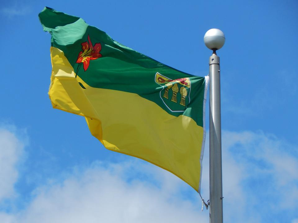 Flag, Saskatchewan, Prairies, Canada, Province