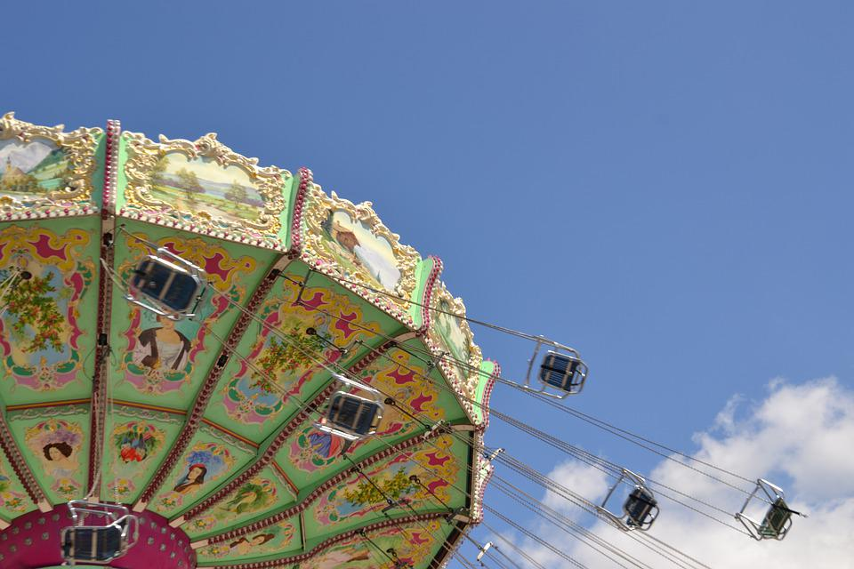 Carousel, Nostalgia, Vienna, Prater, Places Of Interest