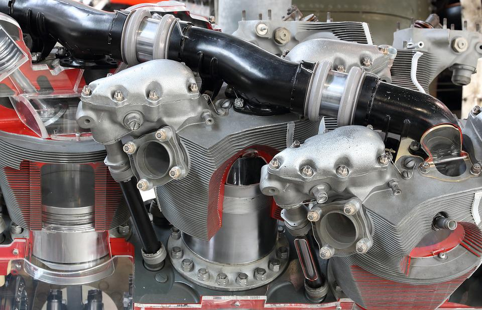 Pratt, Whitney, R-4360, Wasp, Major, Aircraft, Engine
