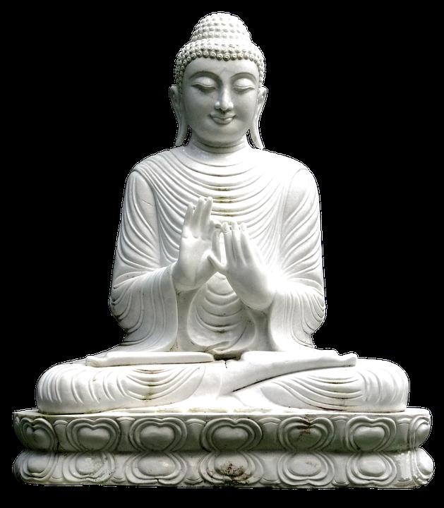 Buddha, Pray, Figure, Stone, Temple, Buddhism, Religion