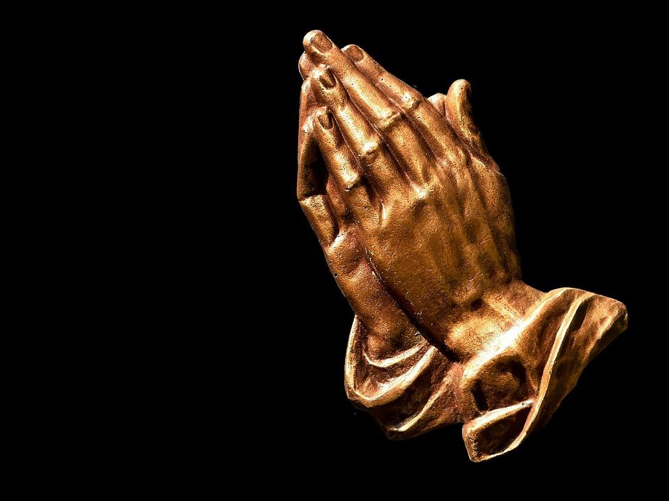 Praying Hands, Faith, Hope, Religion, Pray, Folded