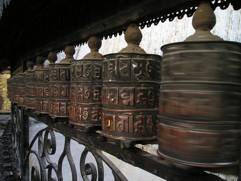 Prayer Wheels, Buddhism, Nepal, Prayers, Pray, Faith