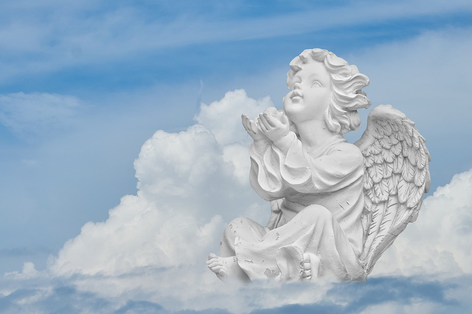 Angel, Sky, Wing, Heavenly, Faith, Religion, Pray