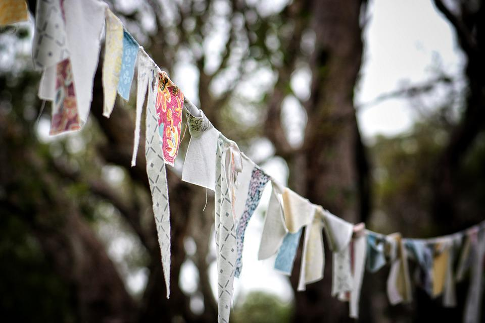 Prayer Flags, Wind, Tibet, Buddhism, Flag, Culture