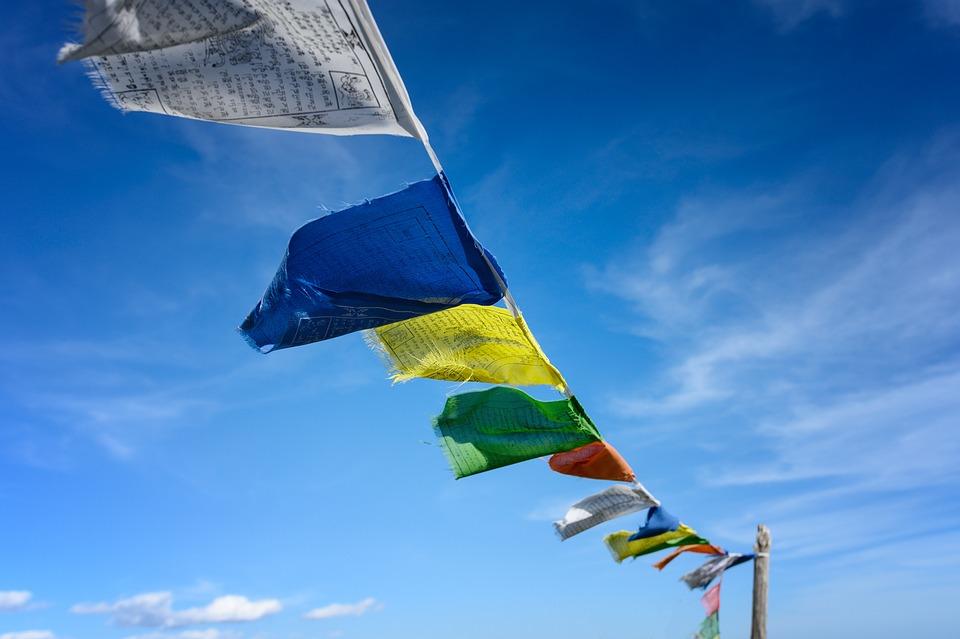 Buddhism, Flags, Prayer Flags, Culture, Prayer, Tibet