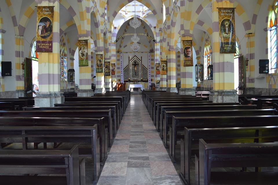 Church, Candlestick, Chandeliers, Hope, Prayer