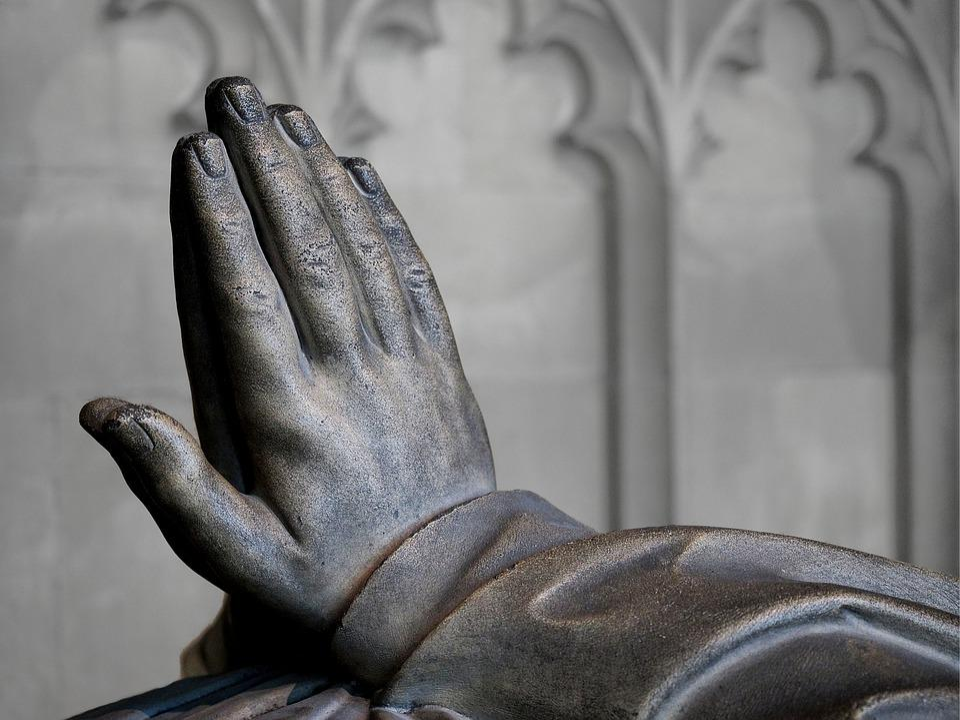 Prayer, Hands, Effigy, Religion, Faith, Petition