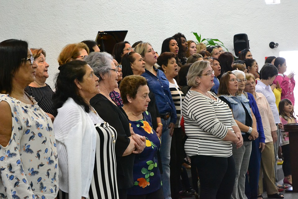 Women, Meeting, Prayer