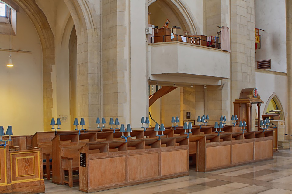Guildford, Cathedral, Surrey, Church, Religion, Praying
