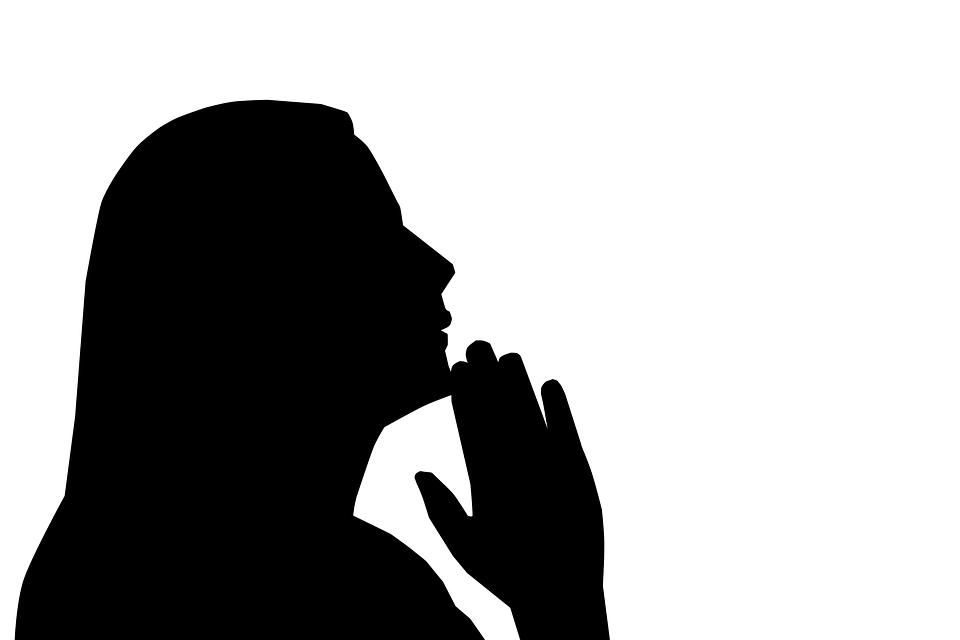 Prayer, Praying, Woman