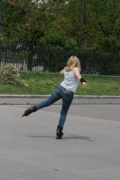 Inline, Skating, Balance, Precision, Paris