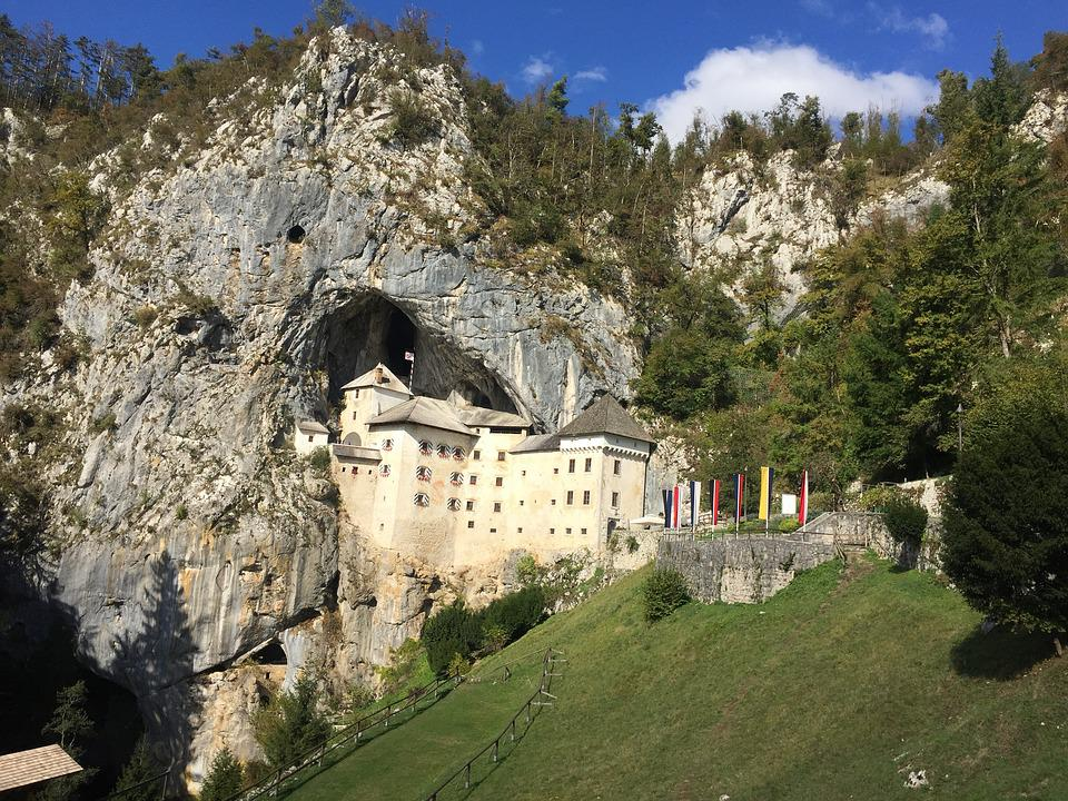 Predjama, Castle, S, Slovenia, Travel, Europe, Landmark