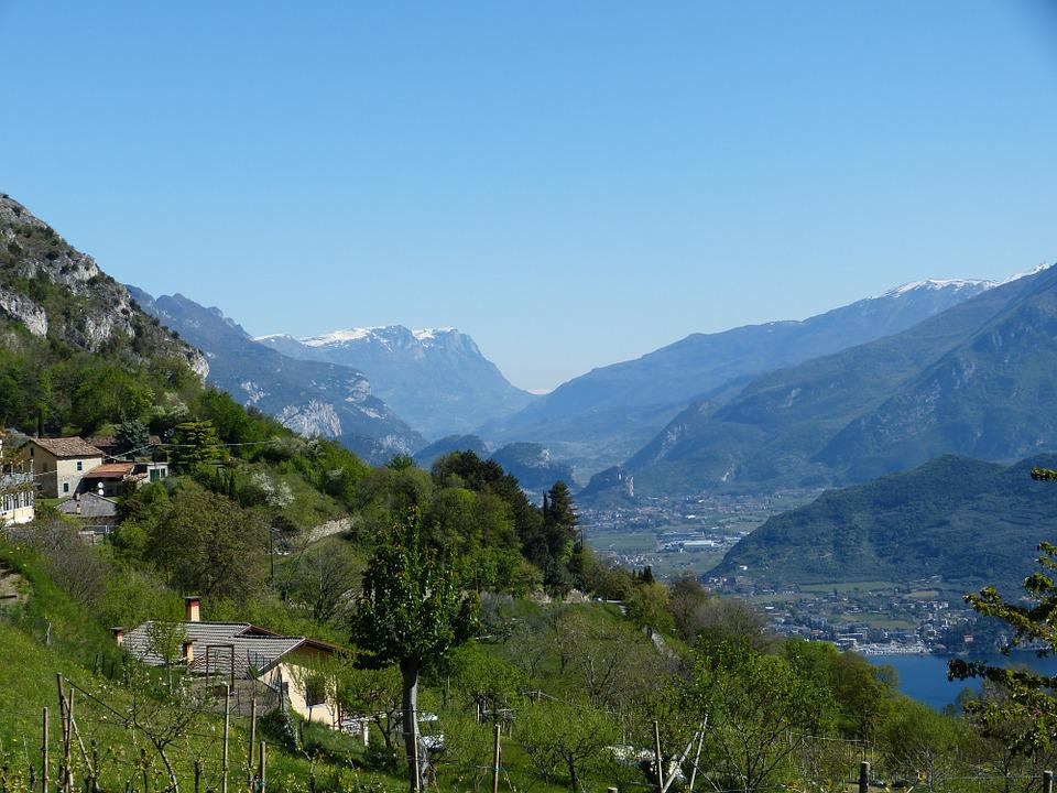Garda, Pregasina, Lake, View, Italy, Landscape