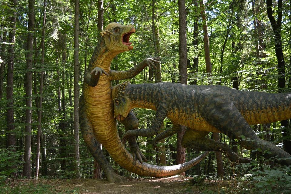 Dinosaur, Prehistoric Times, Giant Lizard, Carnivores