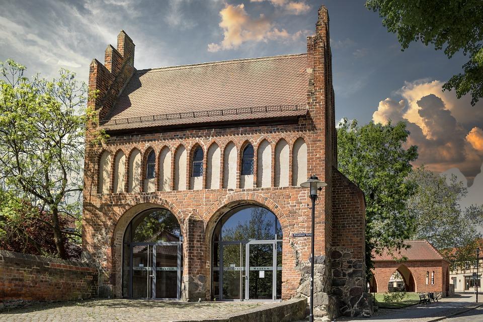 Prenzlauer Gate, Museum, Old, City Wall, Templin