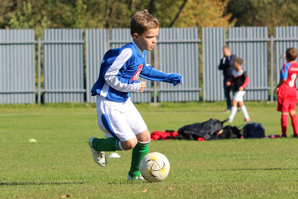 Football, Prep, Player, Portrait, Action, Run