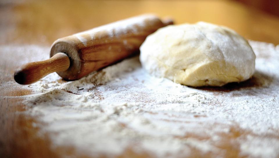 Dough, Roll Of Dough, Bake, Cake, Cake Mix, Preparation