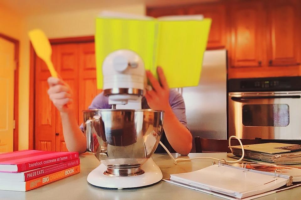 Kitchen, Cooking, Food, Preparing, Kitchen Interior