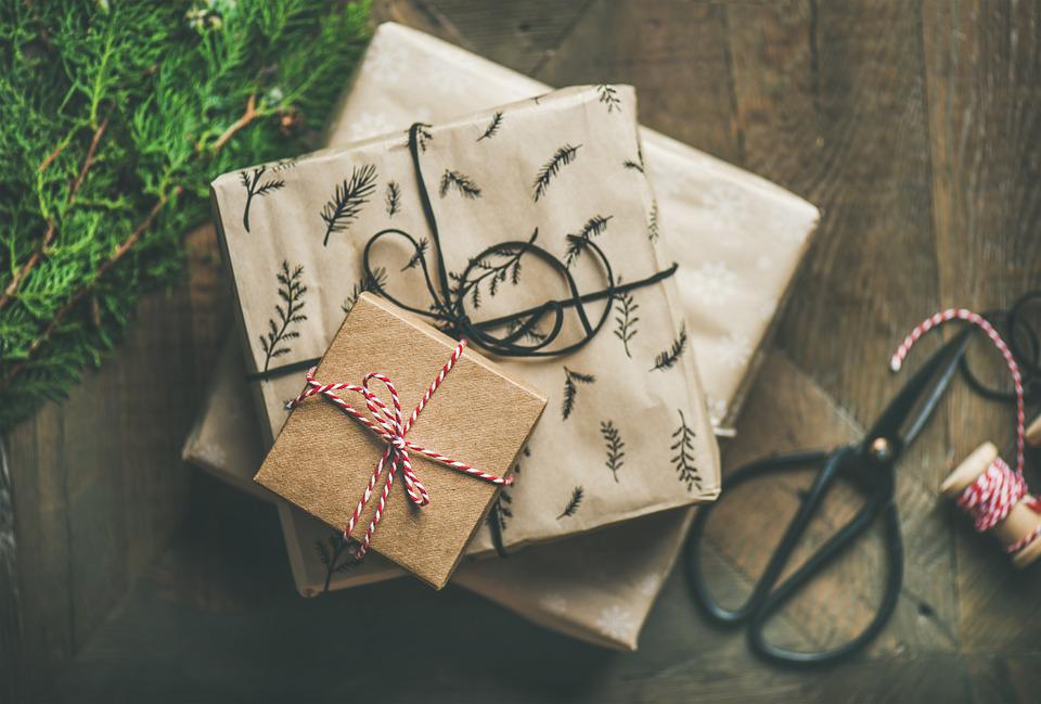 Gifts, Background, Decoration, Present, Christmas