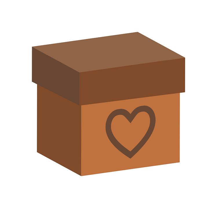 Box, Heart, Gift, Love, Valentine, Present, Romantic
