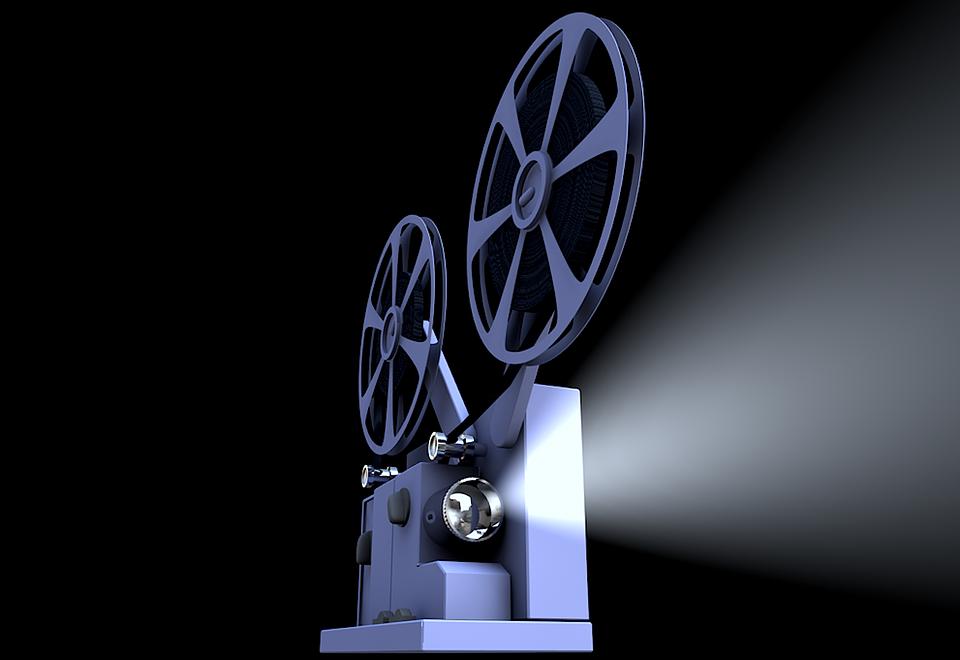 Movie Projector, Projector, Presentation, Film, Cinema
