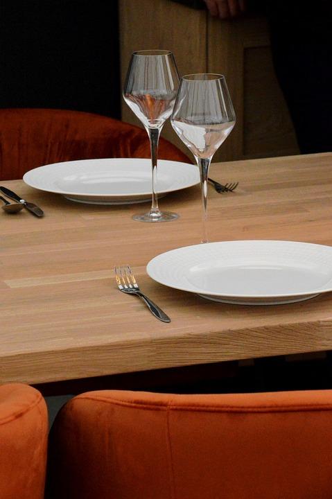Table, Dining Room, Presentation, Interior, Meals