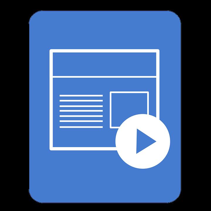 Presentation Icon, App, Application, Presentation