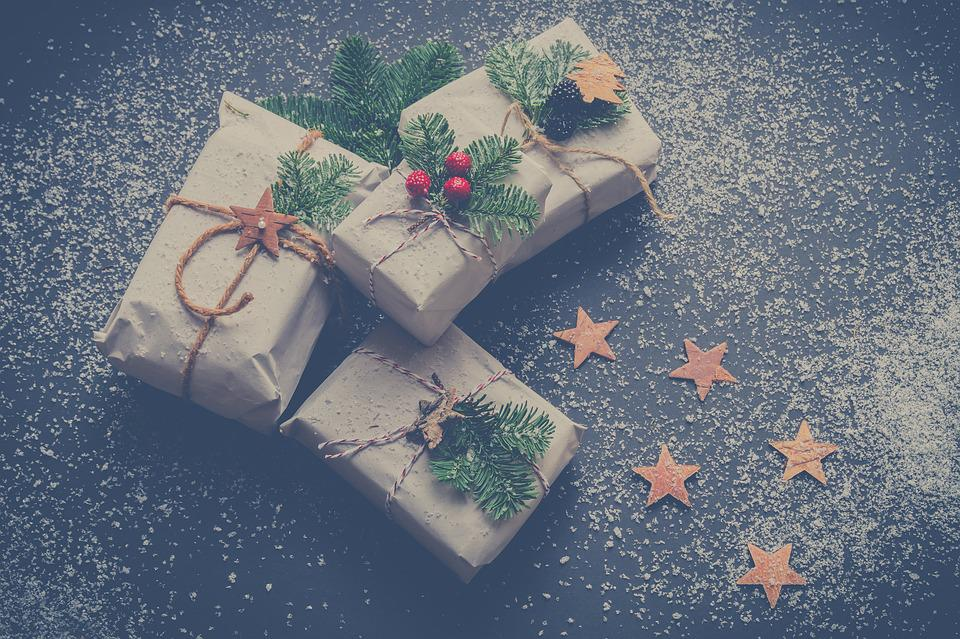 Christmas, Presents, Gifts, Winter, December