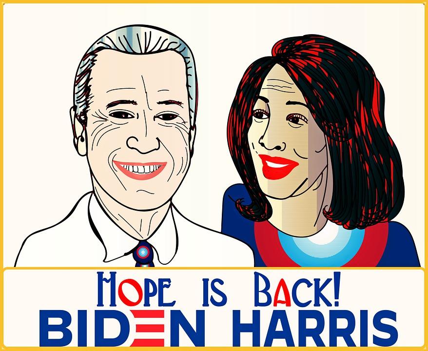 Joe Biden, Kamala Harris, Hope Is Back, President, Usa