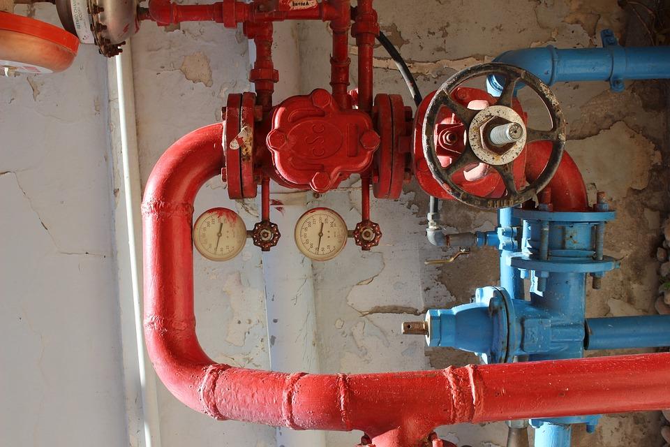 Pressure, Mechanism, Plambing, Sensor, Tube, Red