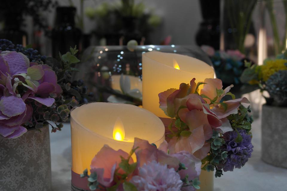 Fancy Candle, Pretty Candles Photo, Pretty Candles